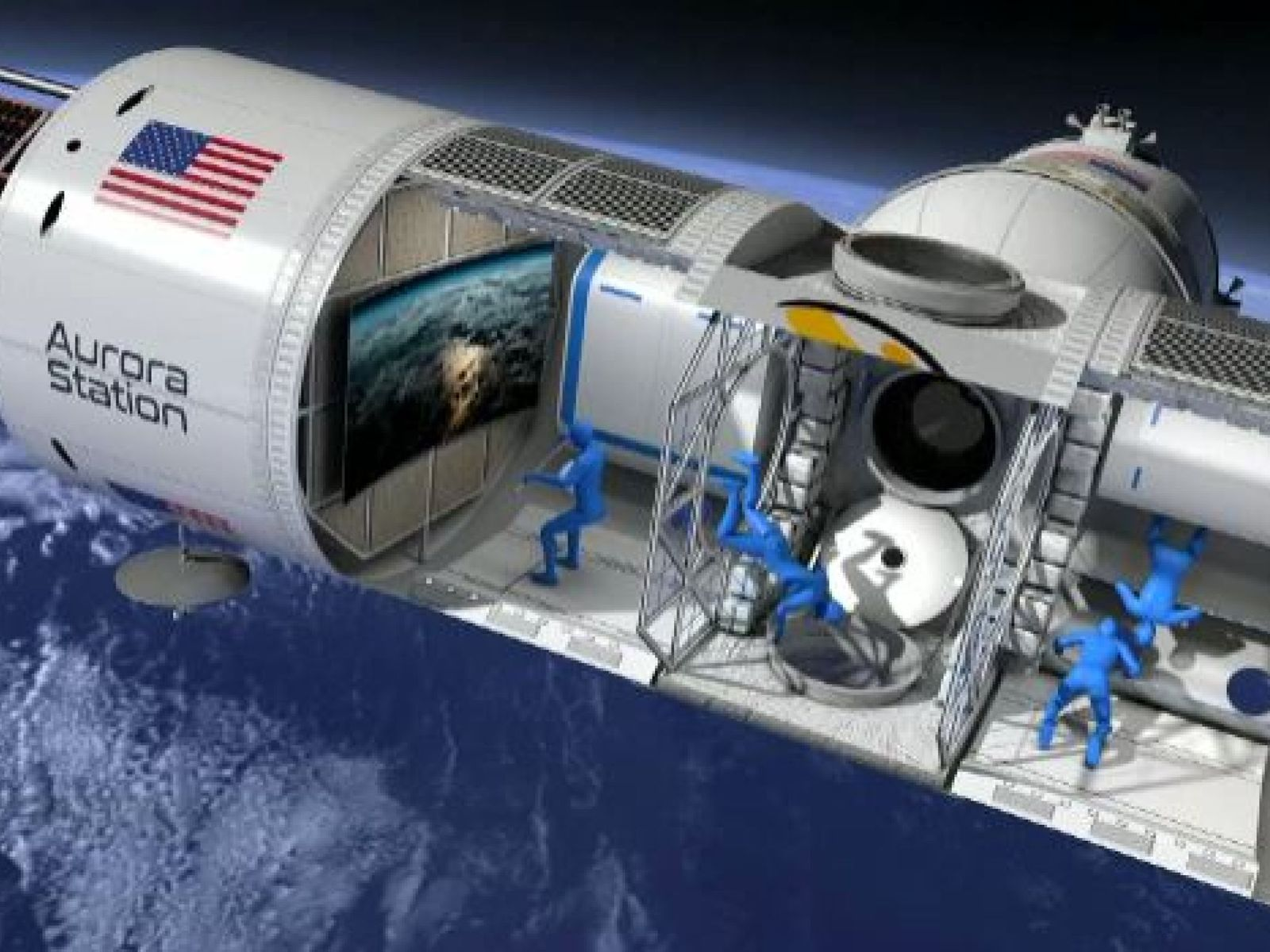 Aurora Station announce first-ever luxury hotel in space