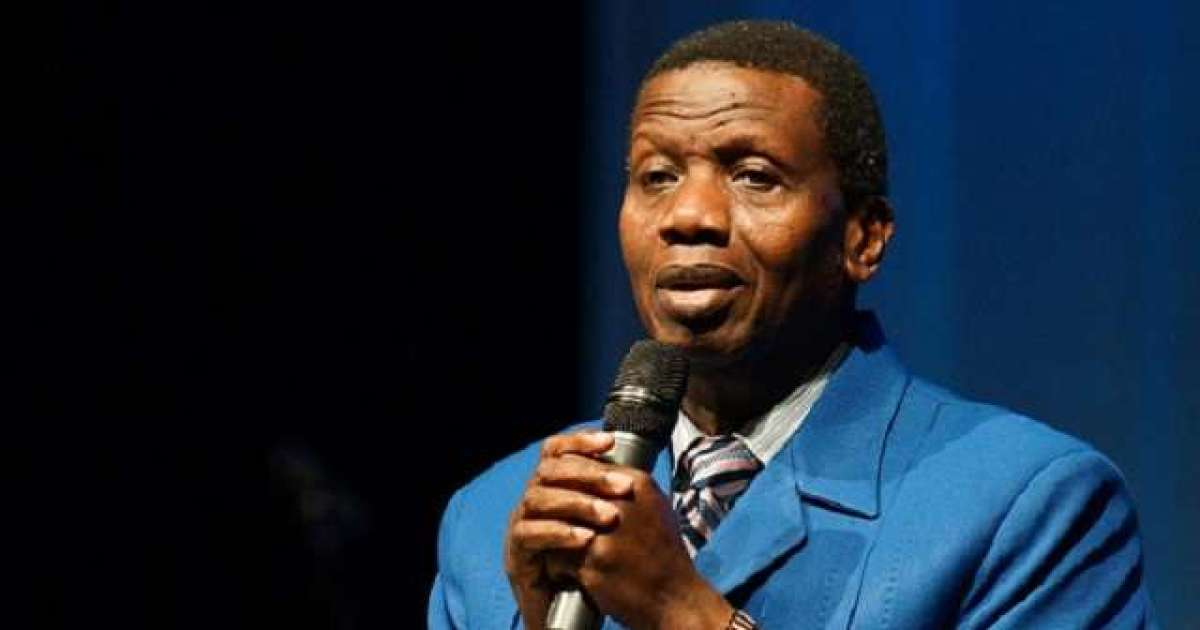 There may be no elections in 2019, says Pastor Adeboye