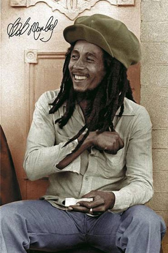 In praise of the legendary Bob Marley