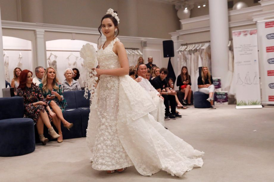 Designers Make Stunning Wedding Dress Out Of Toilet Paper News