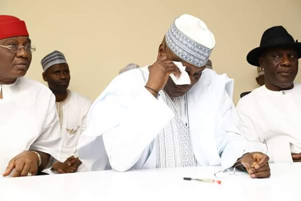 Hold Atiku responsible for any upsurge in terrorism, banditry, others, group says after dismissed petition