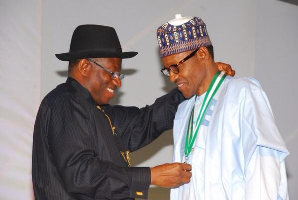 Buhari urges young Nigerians to emulate Jonathan