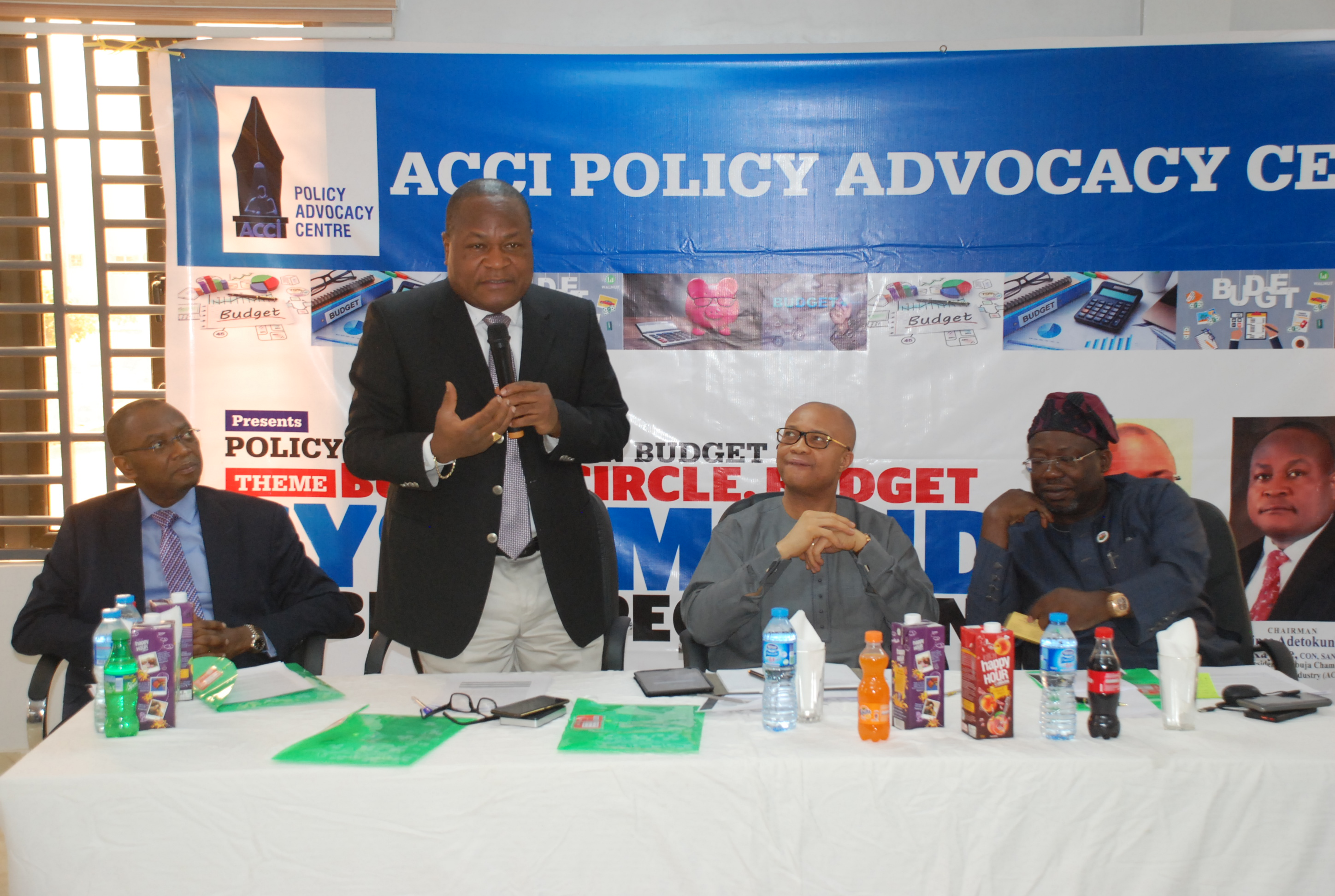 Abuja Chamber Policy Centre holds roundtable on 2019 national budget …Stakeholders calls for review of BPP Act