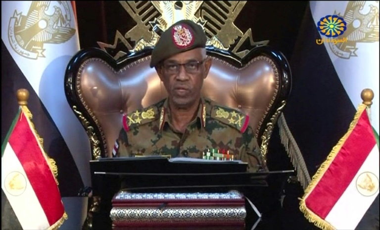 Sudan's new leader Gen. Ibn Ouf quits