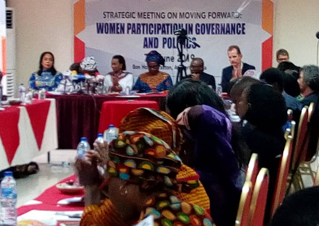 Stakeholders advocates for more active participation of women in scheme of affairs