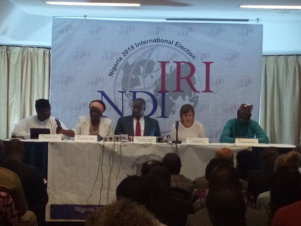 IRI/NDI report indicts INEC, military, parties over poor conduct of 2019 polls