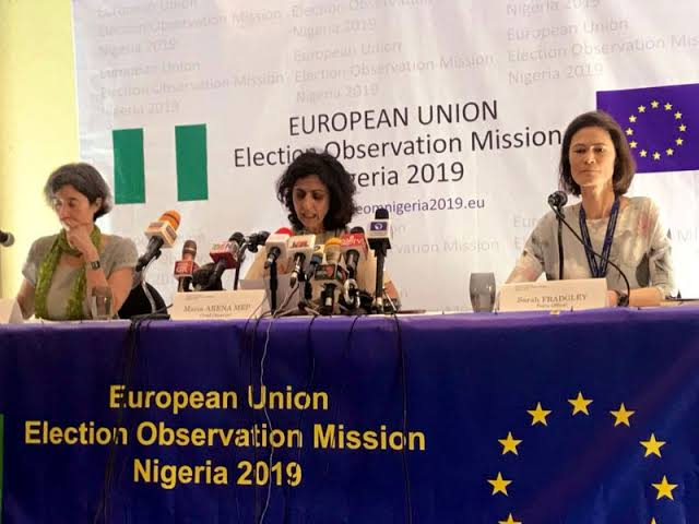 We know nothing about INEC servers, Says EU election observers