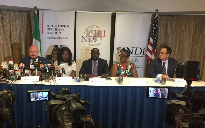 INEC receives IRI/NDI reports on 2019 general elections