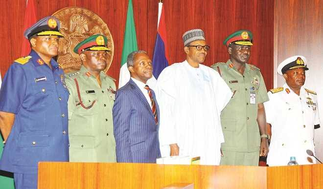 Sustaining Buhari's reforms  in the Nigerian Armed Forces