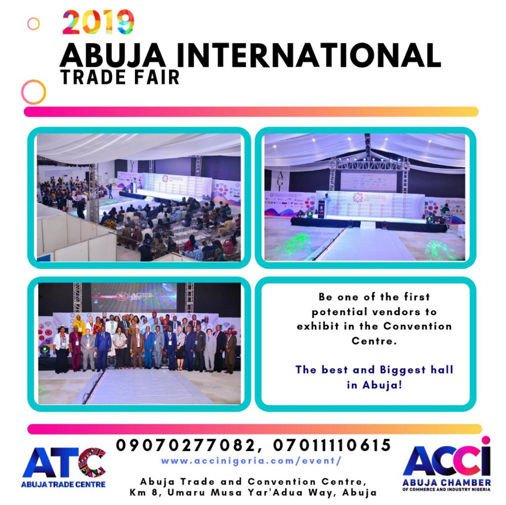 ACCI set to host multi-sectoral 2019 AITF