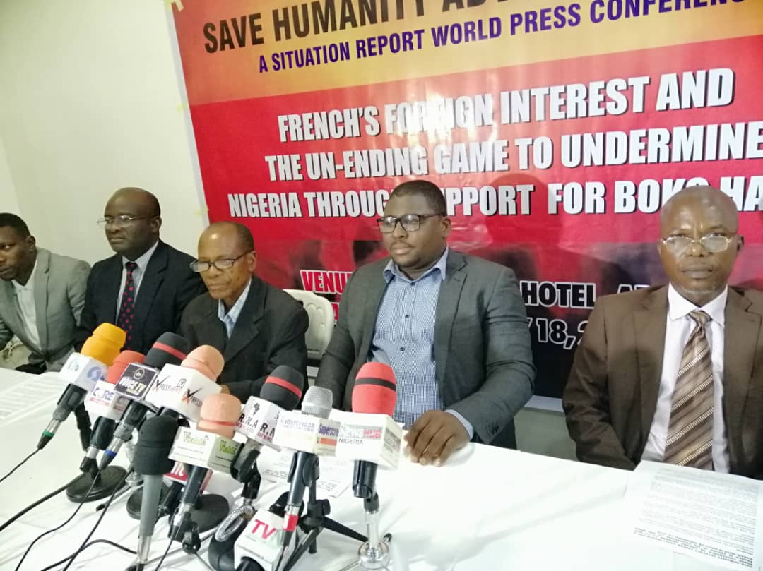 Centre links Boko Haram funding, weapons to France, says European nation, allies undermining Nigeria's sovereignty