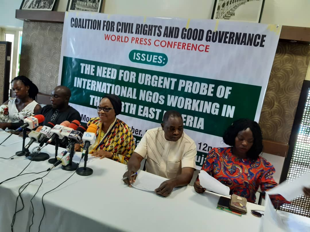 Boko Haram: Questionable activities of International NGOs very worrisome – Civil Rights group