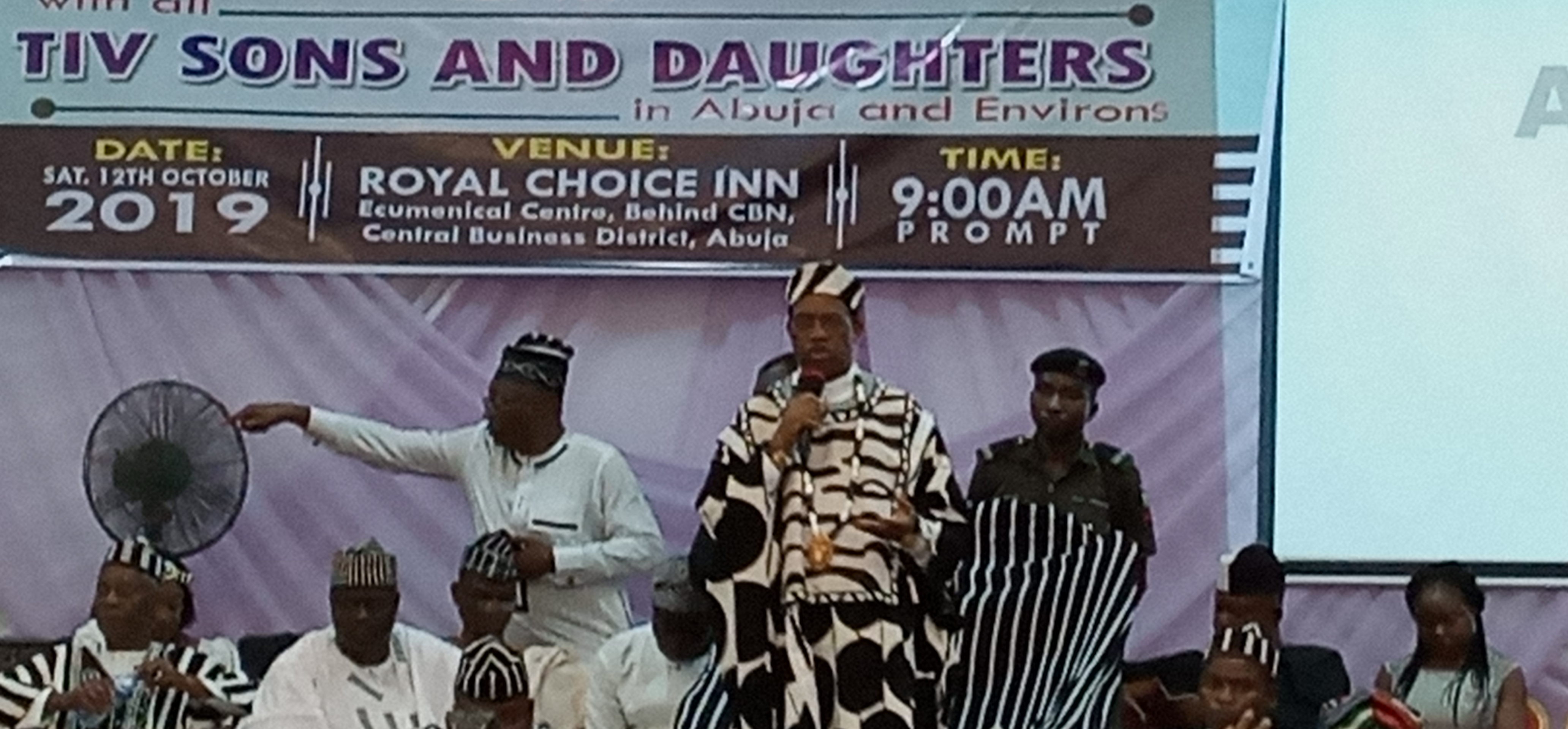 Tor Tiv meet with Tiv community in Abuja